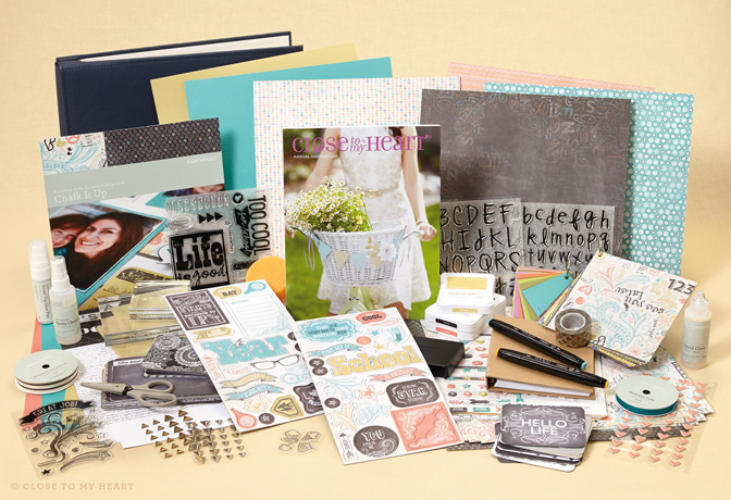 Scrapbooker's New Consultant Kit