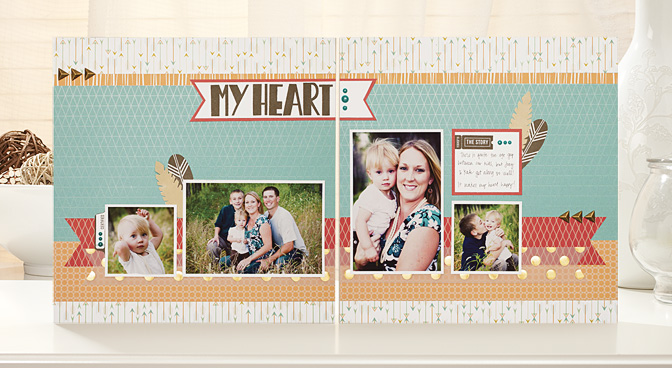 May 2014: National Scrapbooking Month - Free to Be Me