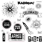 Kaboom stamps