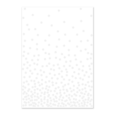 Confetti Embossing Folder