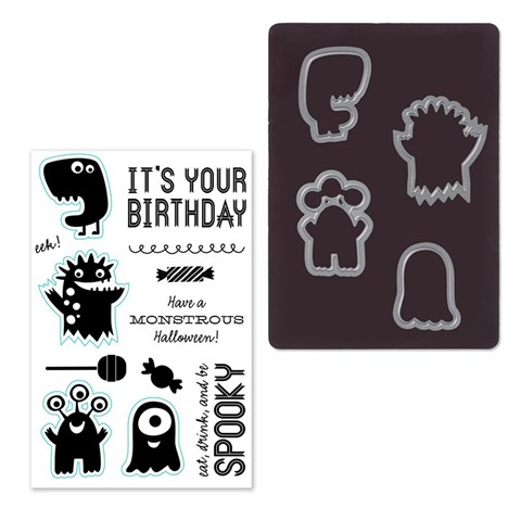 Monstrous Halloween Thin Cuts Bundle