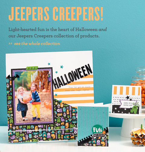 Jeepers Creepers Scrapbooking Kit