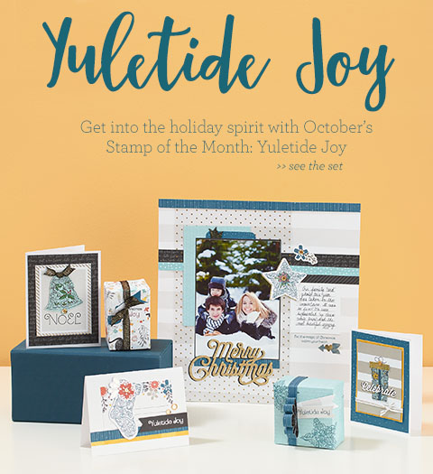 Yuletide Joy stamp set