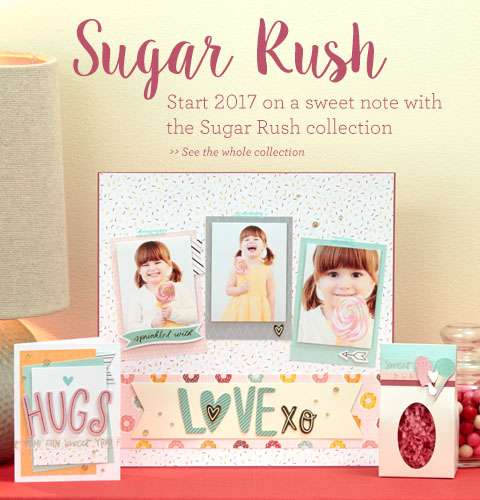 Sugar Rush Scrapbooking
