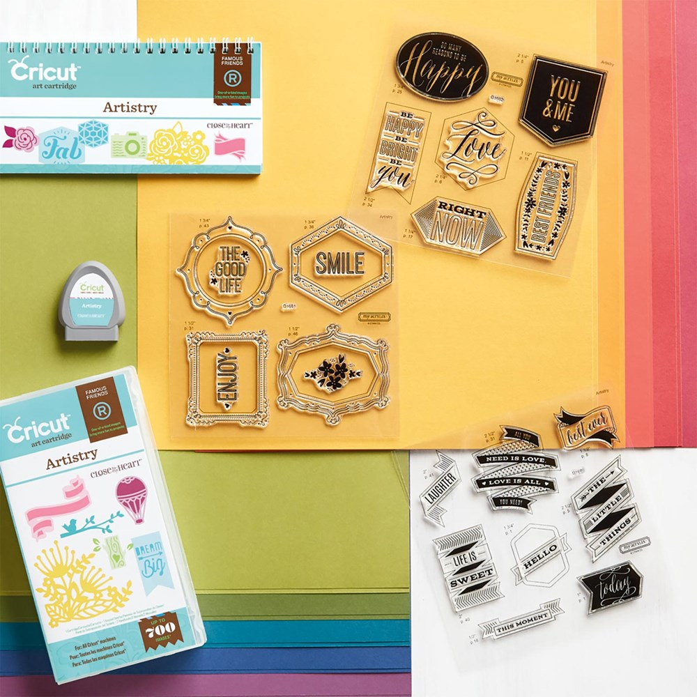 Nancy\'s Scrappin\' and Stamps: New Close To My Heart Artistry Cricut ...