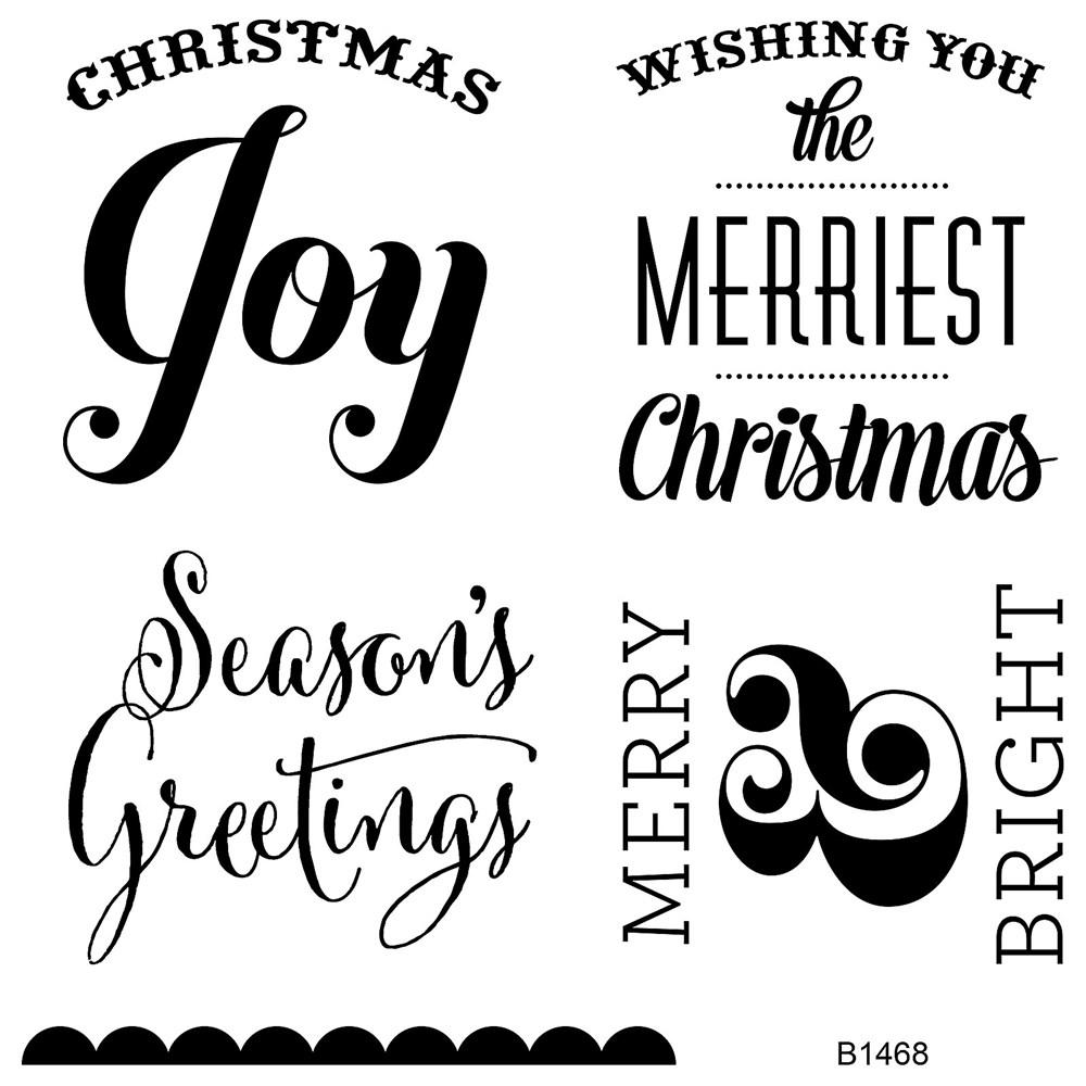 Merriest Christmas Stamp Set