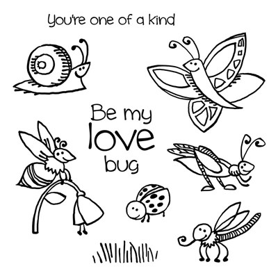 CTMH's Buggy Love Stamp Set