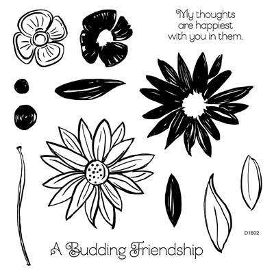 #CTMH #Stamp #Friends #Flowers