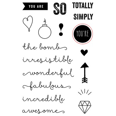 You're the Bomb Operation Smile Stamp Set