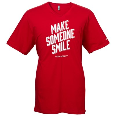 Operation-Smile-T-Shirt-unisex-red