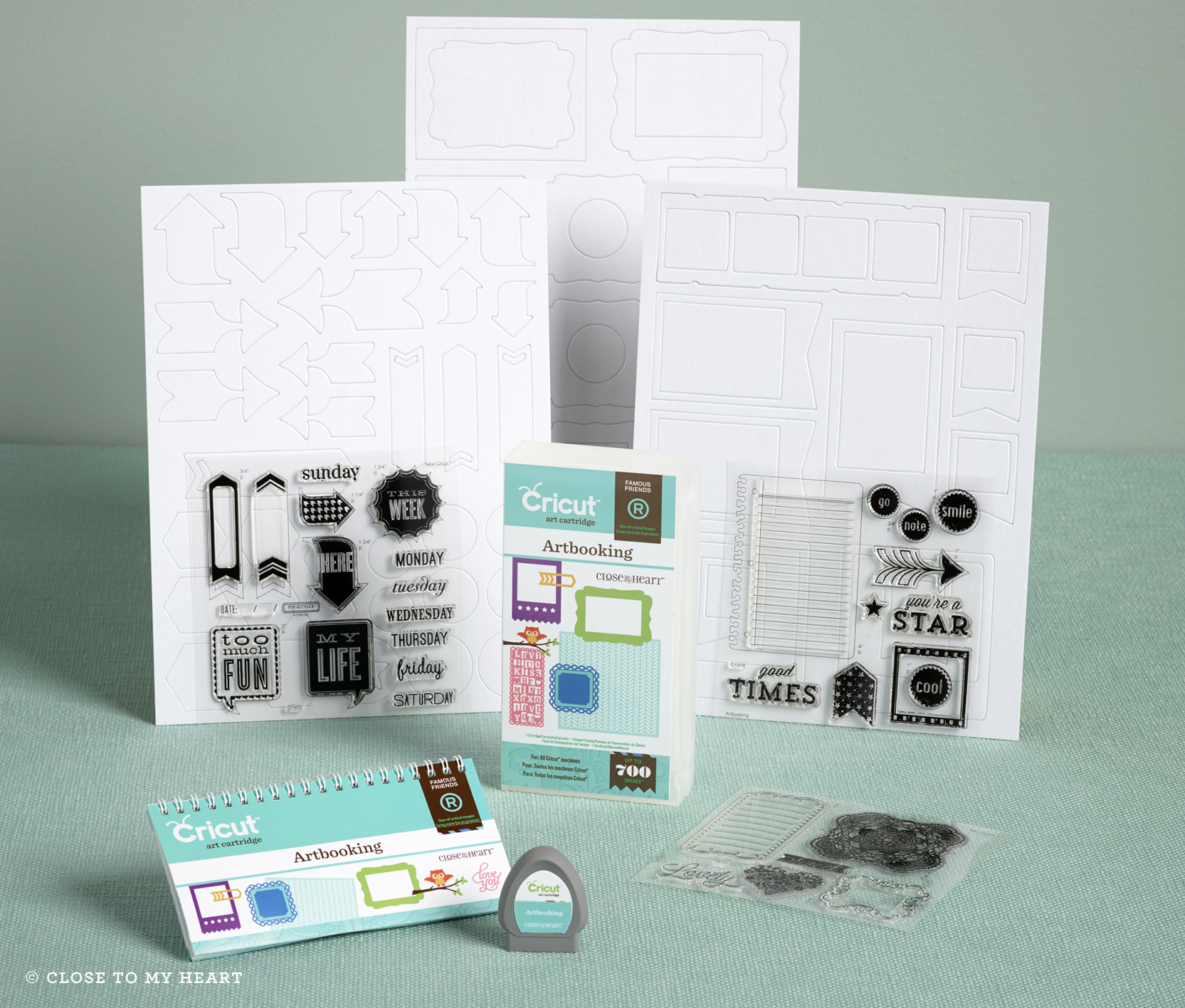 Cricut Artbooking Cartridge