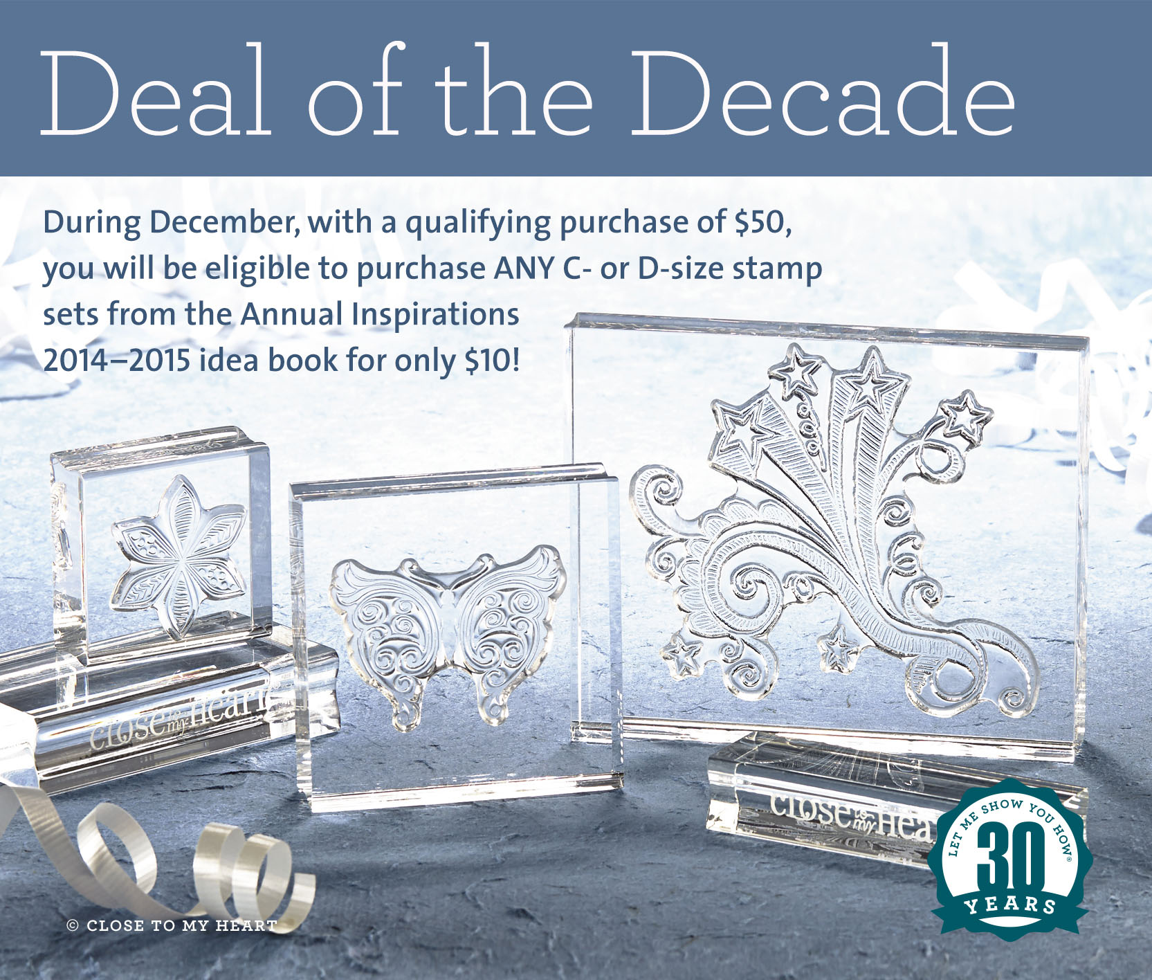 CTMH December Special - Deal of the Decade