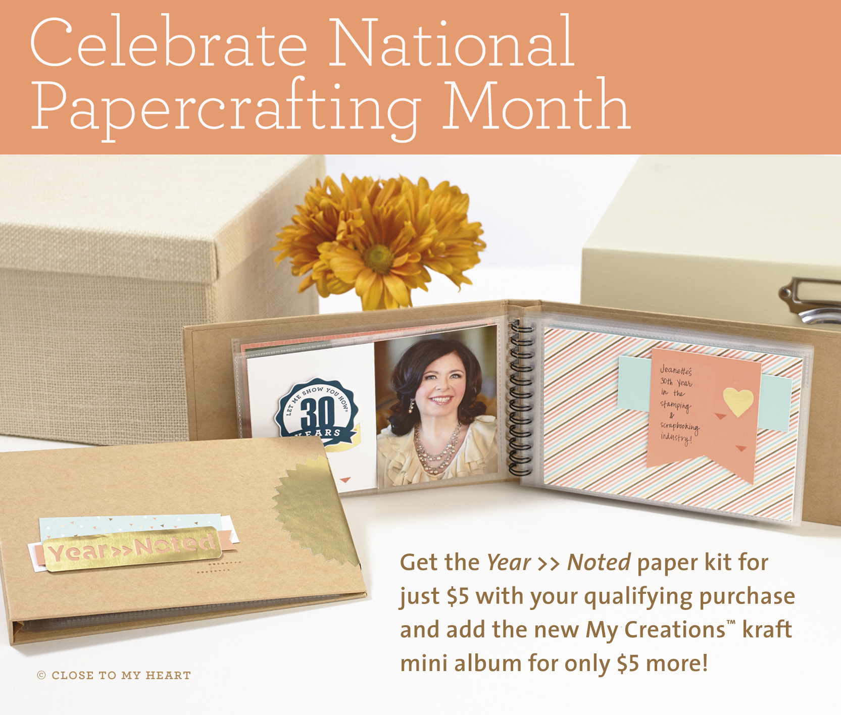 CTMH January Special - National Papercrafting Month Promotion