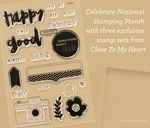 September 2015 Constant Campaign: National Stamping Month—Hello, Life!