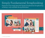 November 2015 Constant Campaign: Simply Fundamental Scrapbooking