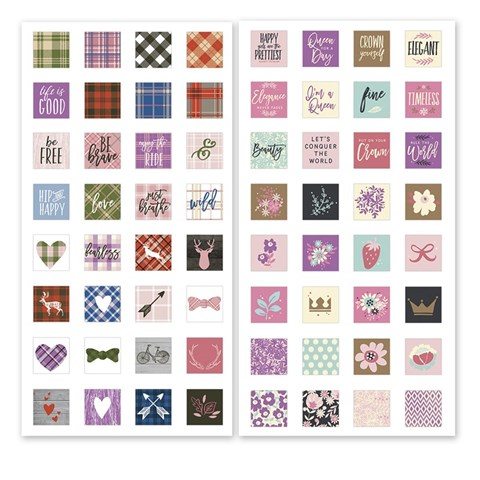 Base & Bling Stickers Bundle