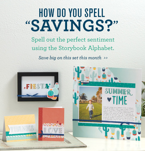 Storybook Alphabet stamp set