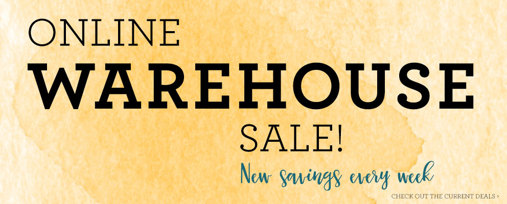 WAREHOUSE SALE!