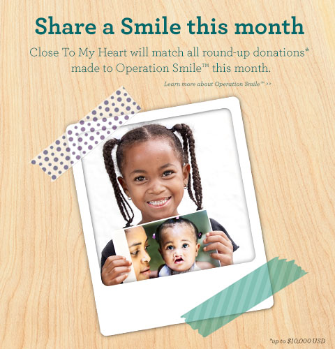 Operation Smile™ promotion