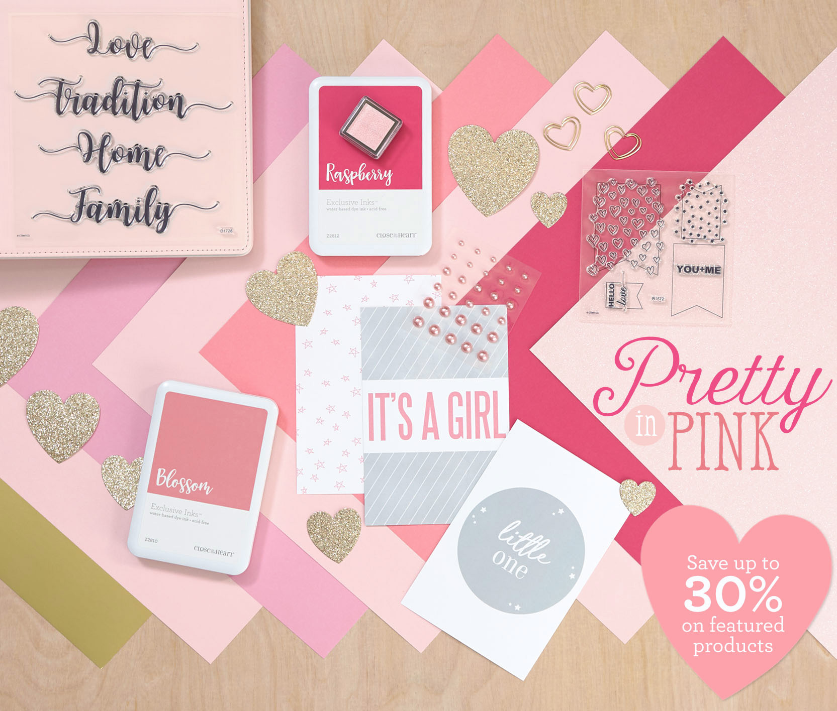 CTMH February Special -- Prretty in Pink