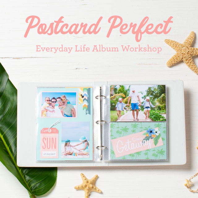 Postcard Perfect Album