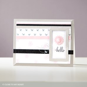 January Stamp of the Month — Card Captions