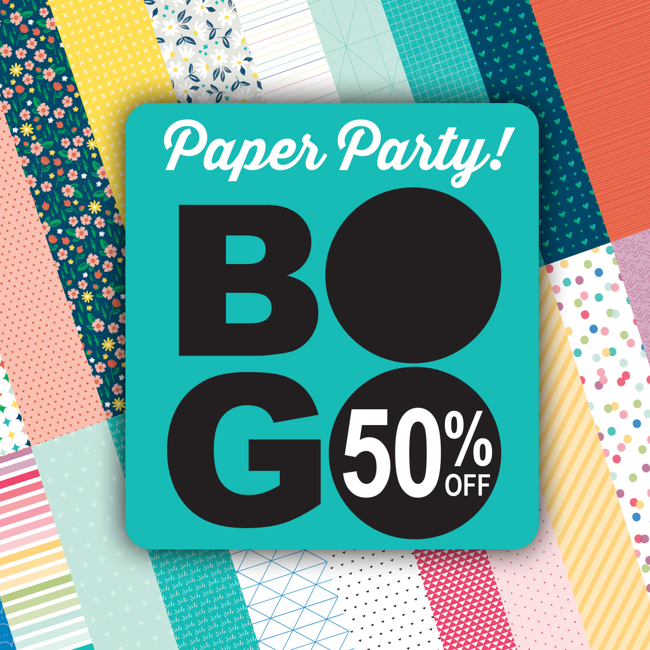 CTMH March Special -- Paper Party - Buy One, Get One 50% Off!