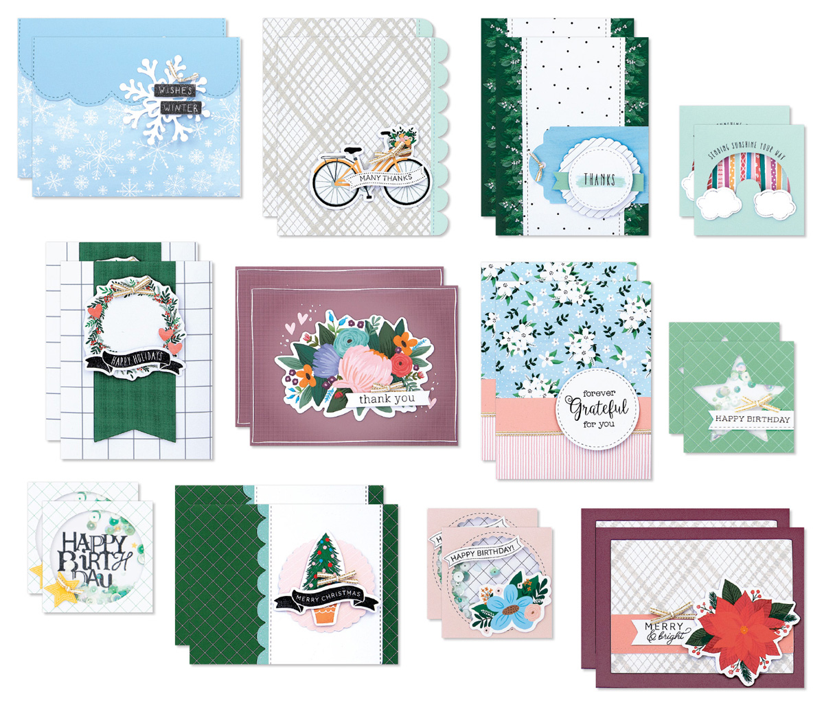 September–December Card Kit