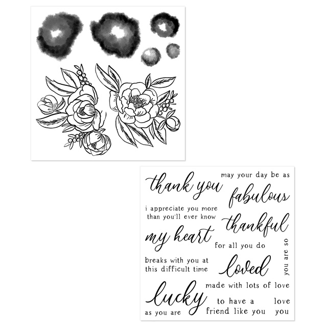 February Hostess Special: Love Blossoms Stamp Set
