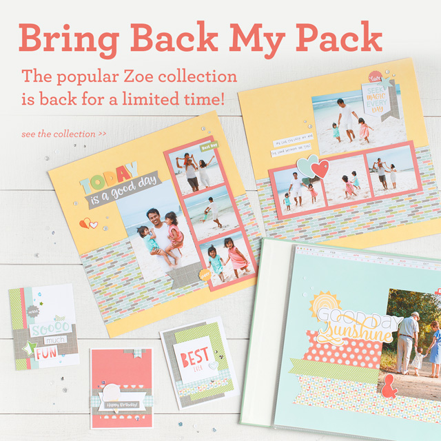 Bring Back My Pack — Zoe