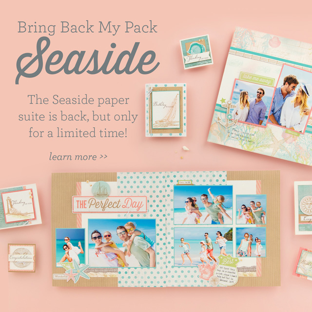 Bring Back My Pack—Seaside