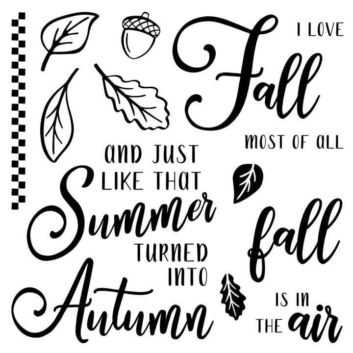 S1910: Autumn Air, set of 10