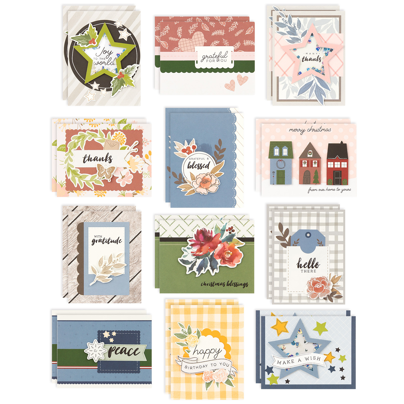 Craft with Heart™—Subscriptions with Heart! Cardmaking Sep - Dec Card Kit
