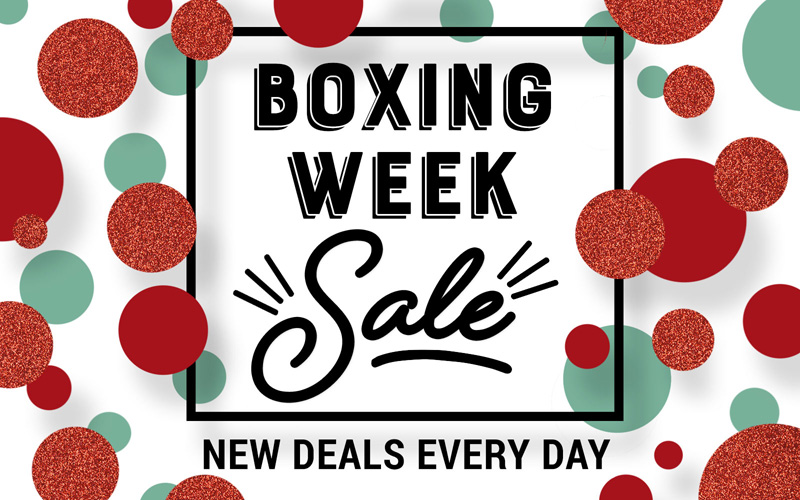 Boxing Week Sale banner image