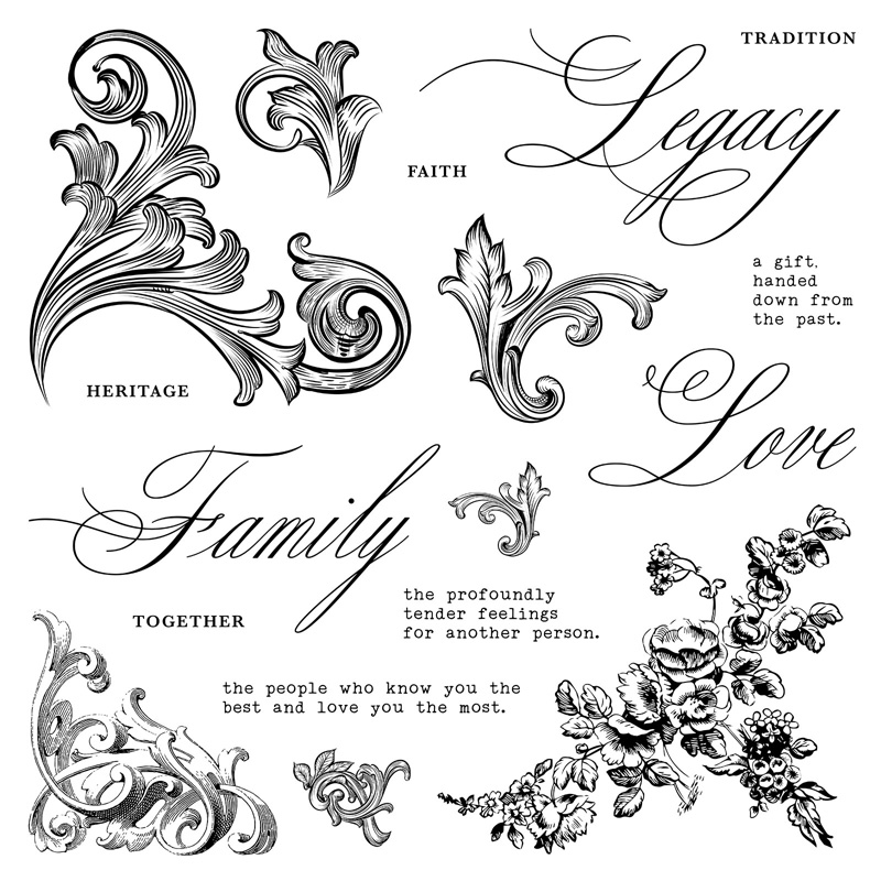 S2003: Family Legacy, set of 17