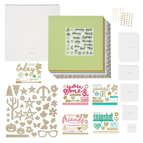 Through the Year Calendar Kit with Stamp Set (CC1344S)