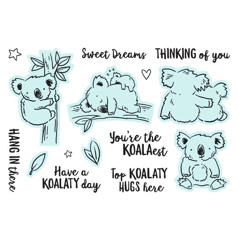 A Koala-ty Day Stamp + Thin Cuts