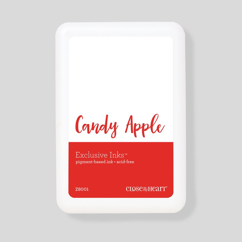 Candy Apple Exclusive Inks™ Pigment Pad