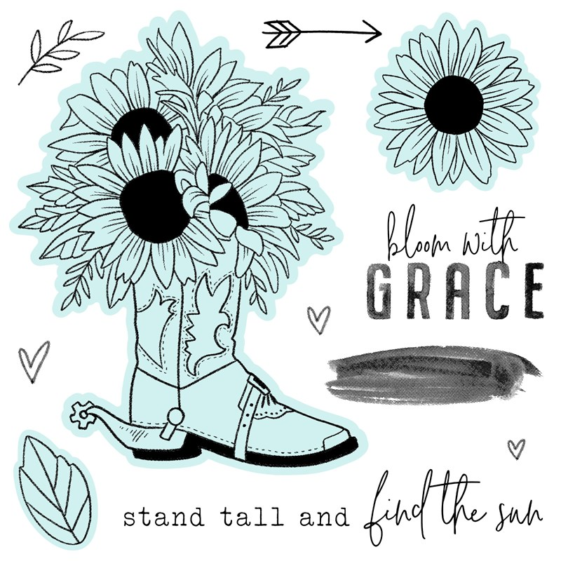 Bloom with Grace—Scrapbooking