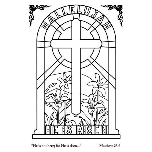 Easter Window (C1834)
