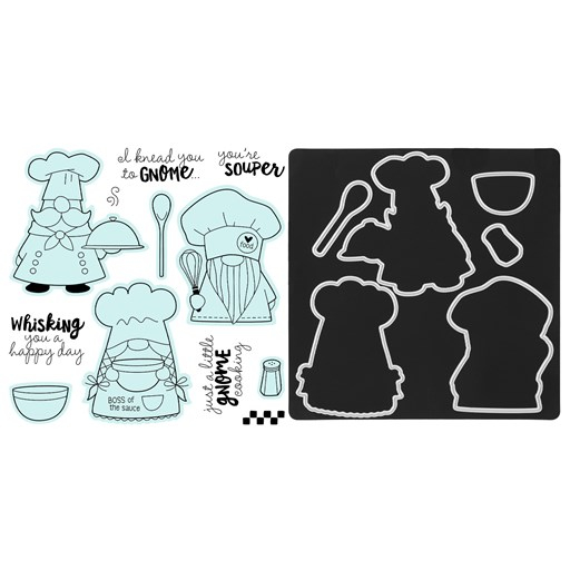 Kitchen Gnomes Stamp + Thin Cuts (Z3931)