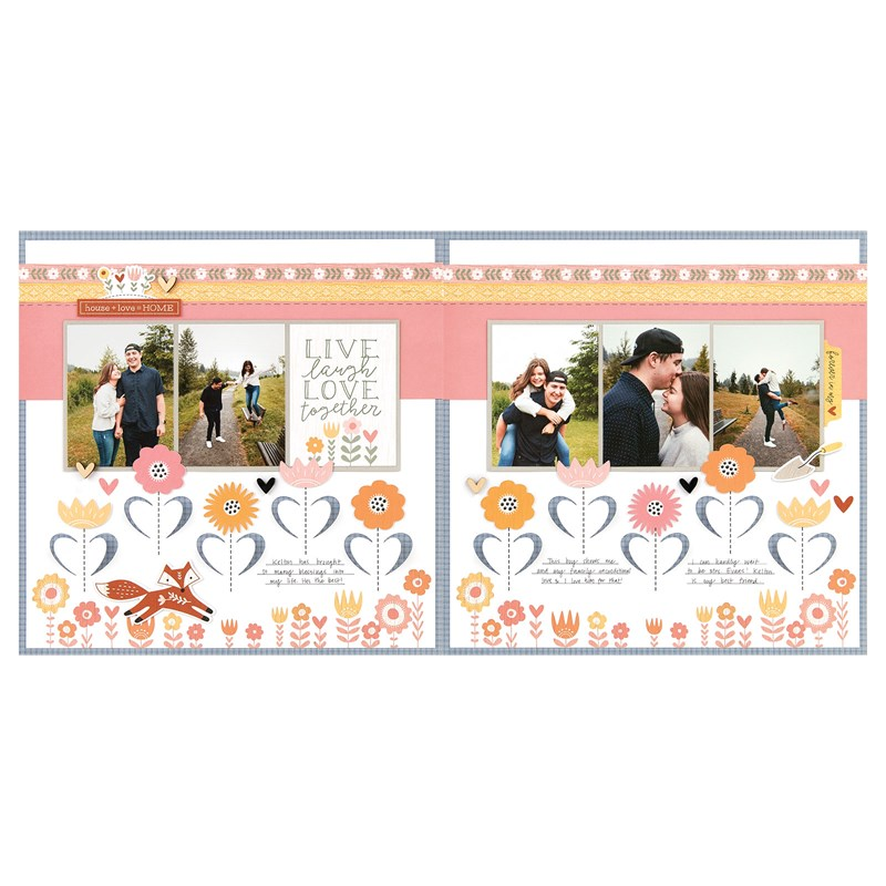 Hillside Cottage Scrapbooking Workshop Kit (without Memory Protectors™)