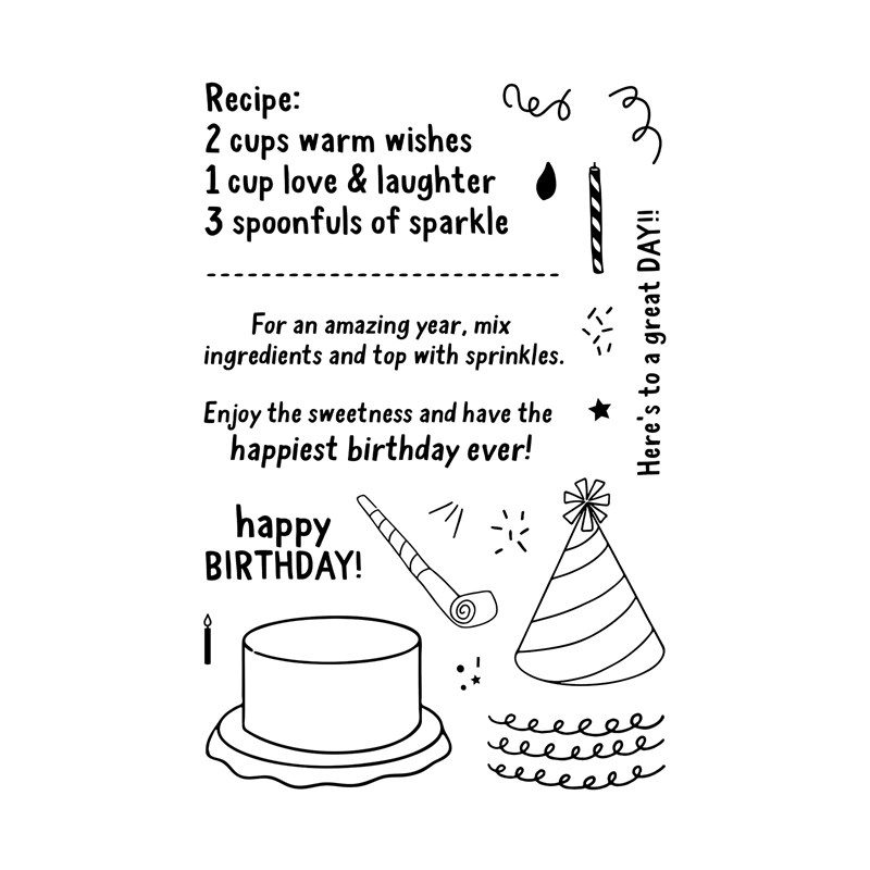 Birthday Recipe