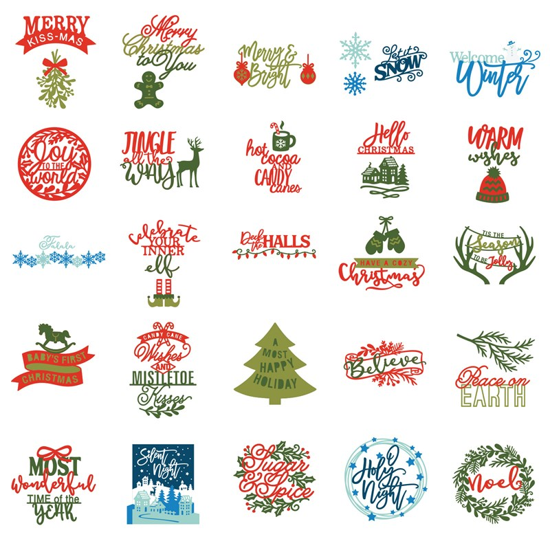 Cricut® Season of Joy Digital Collection