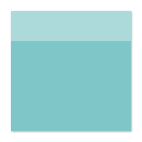 "12"" × 12"" Crystal Blue Cardstock (X5977)"