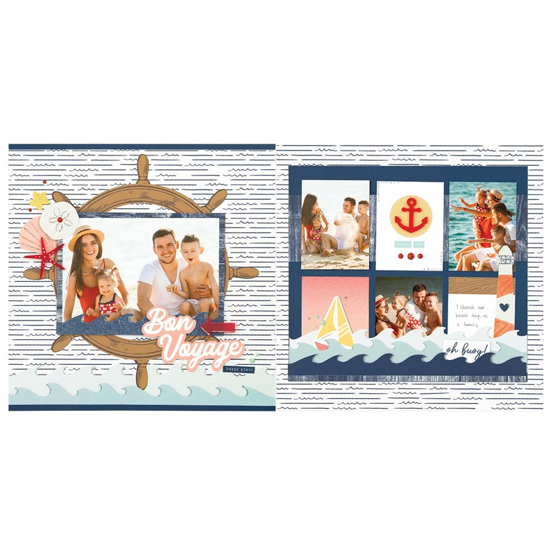 Seas the Day Scrapbooking Workshop Kit