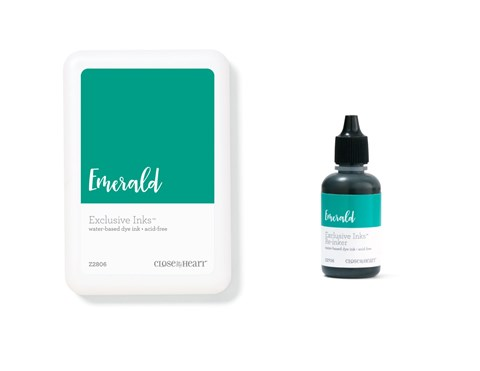 Emerald Exclusive Inks™ Stamp Pad + Re-inker (CC1404)