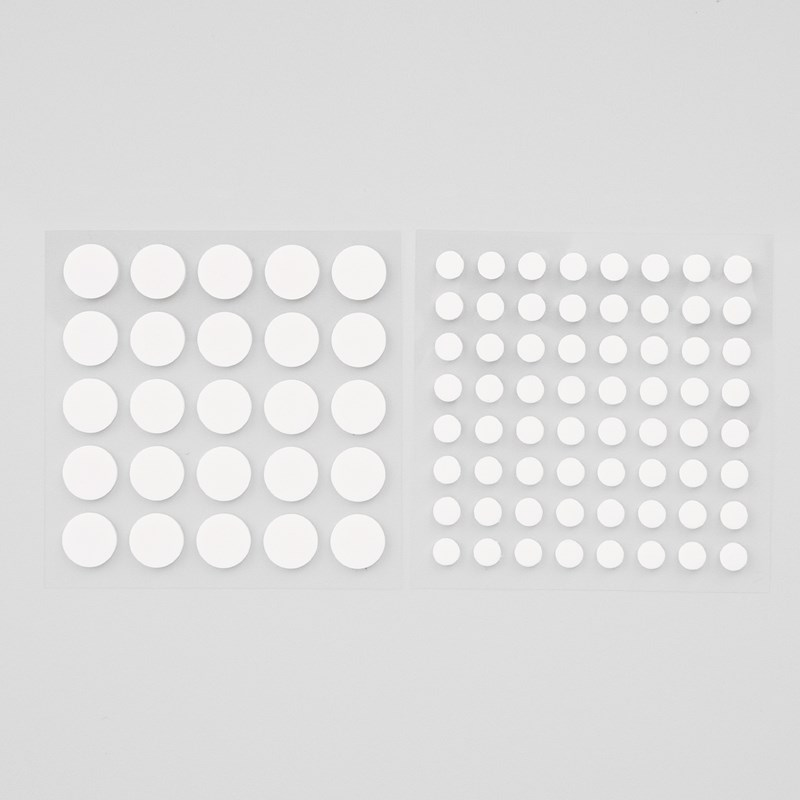 Thin 3-D Foam Dots