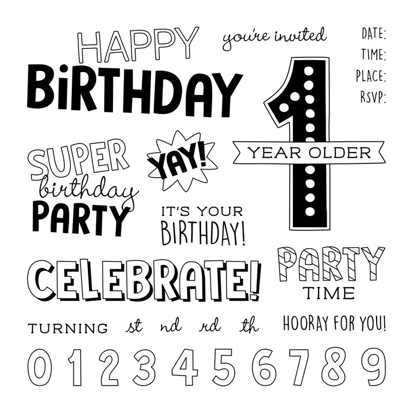 Birthday Time-Stamp of the Month