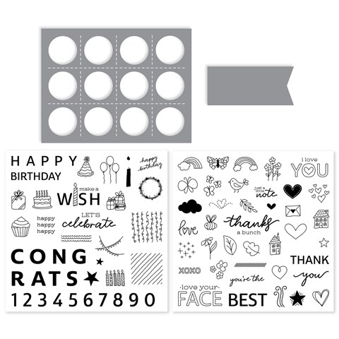 Share the Joy Stamps + Thin Cuts (CC61916)
